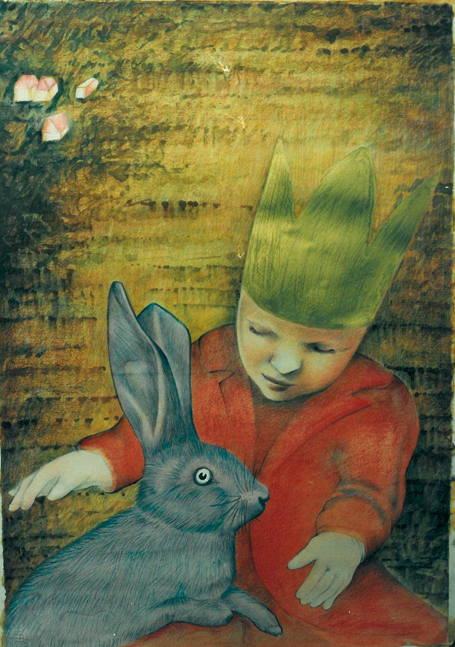 Martin Lühker, Illustration zum Kinderkönig (Detail)