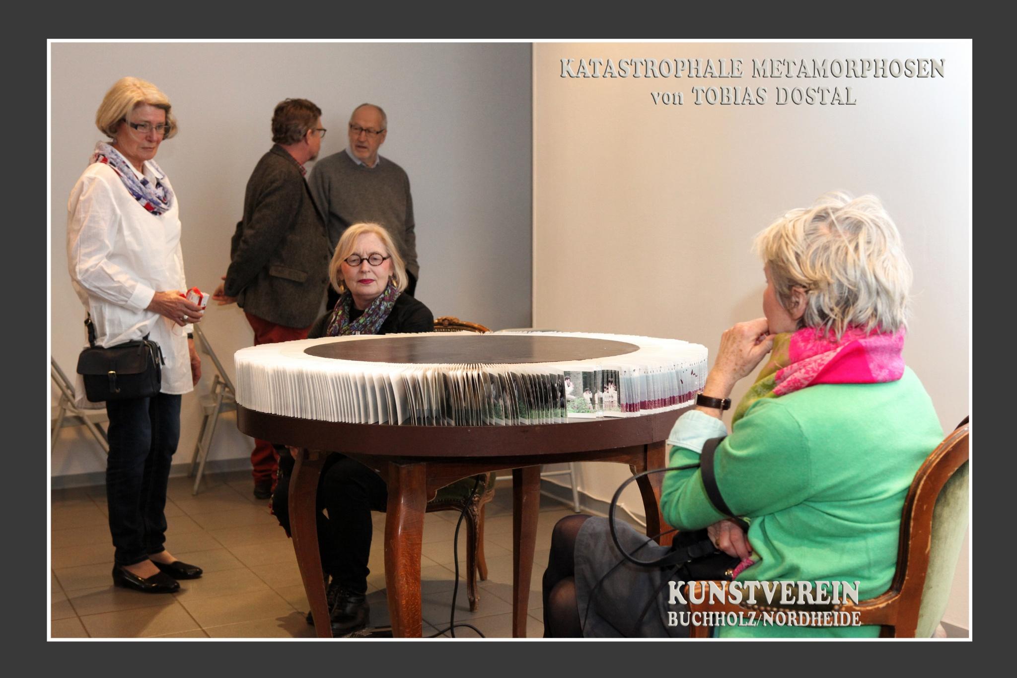 Ausstellungseröffnungellung;  KUNSTVEREIN Buchholz/Nordheide