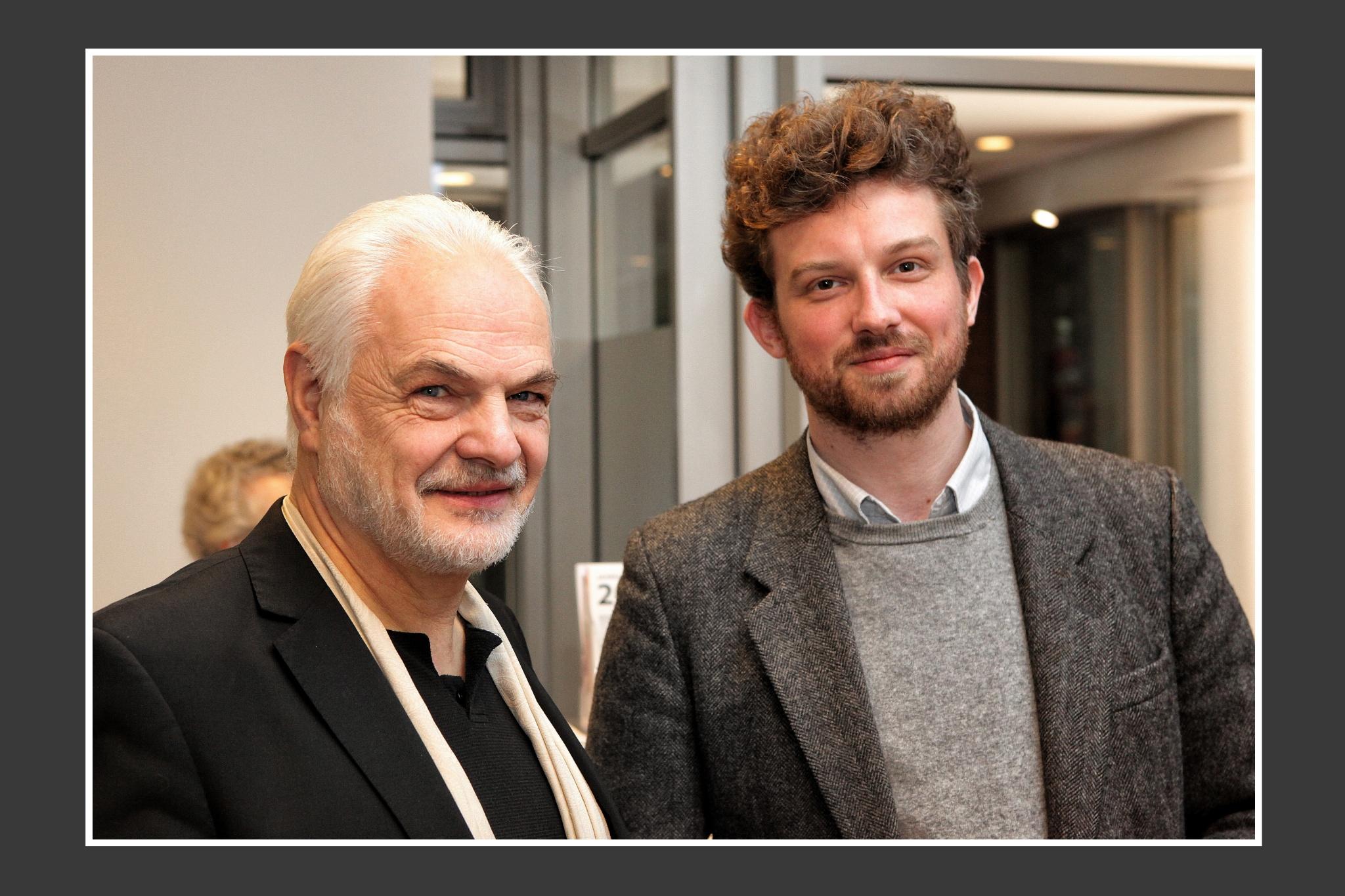 Wittus Witt; Gast im KUNSTVEREIN Buchholz/Nordheide; Tobias Dost