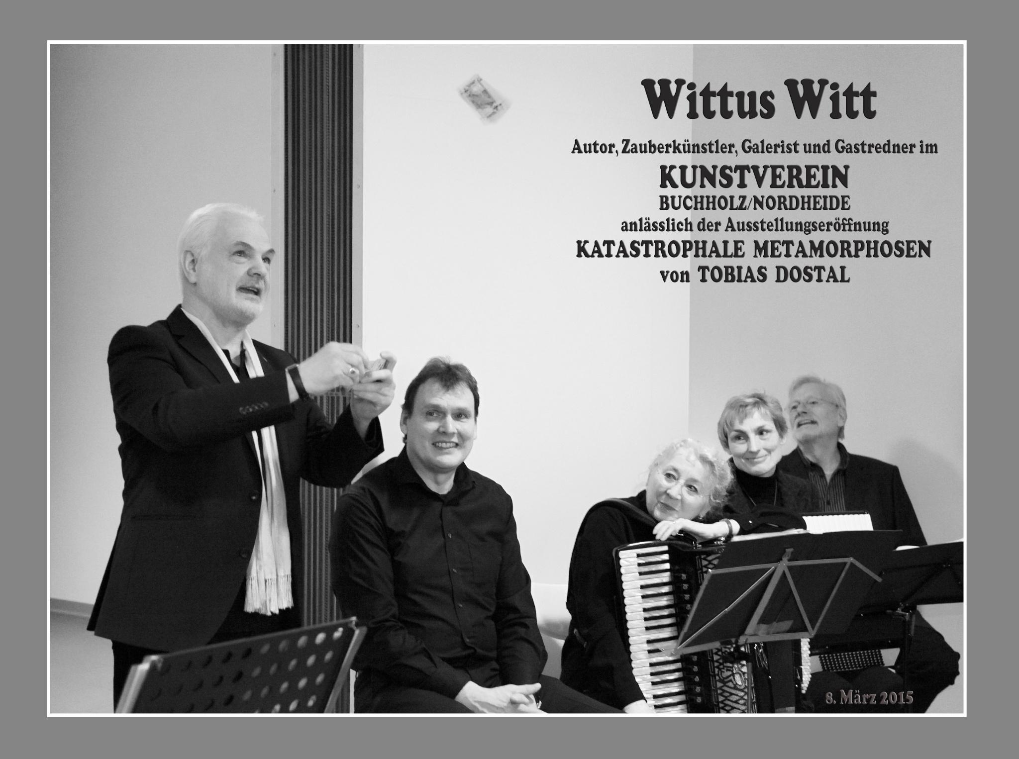 Wittus Witt;    Gast im KUNSTVEREIN Buchholz/Nordheide