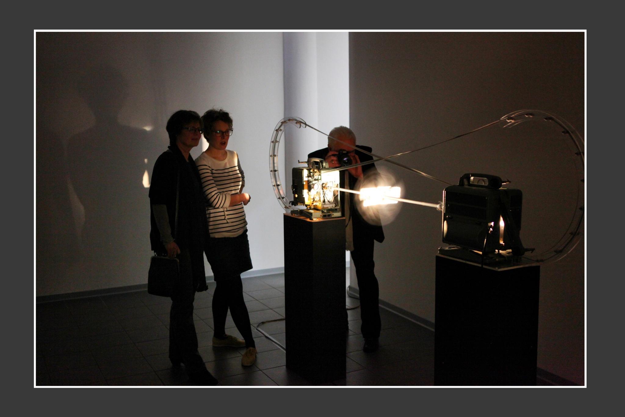 Tobias Dostal; Zwei Sphinx;  KUNSTVEREIN Buchholz/Nordheide