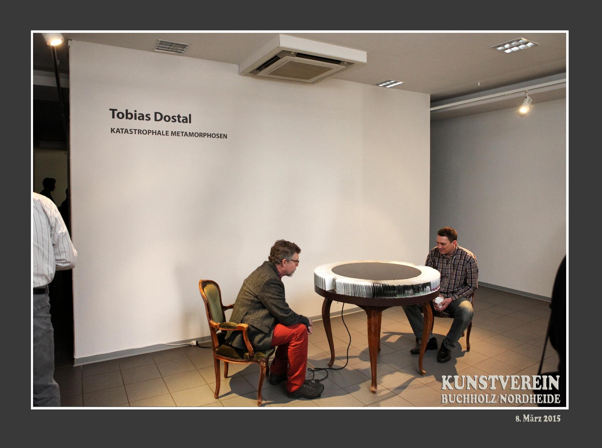 KUNSTVEREIN Buchholz/Nordheide;  Ausstellung Tobias Dostal