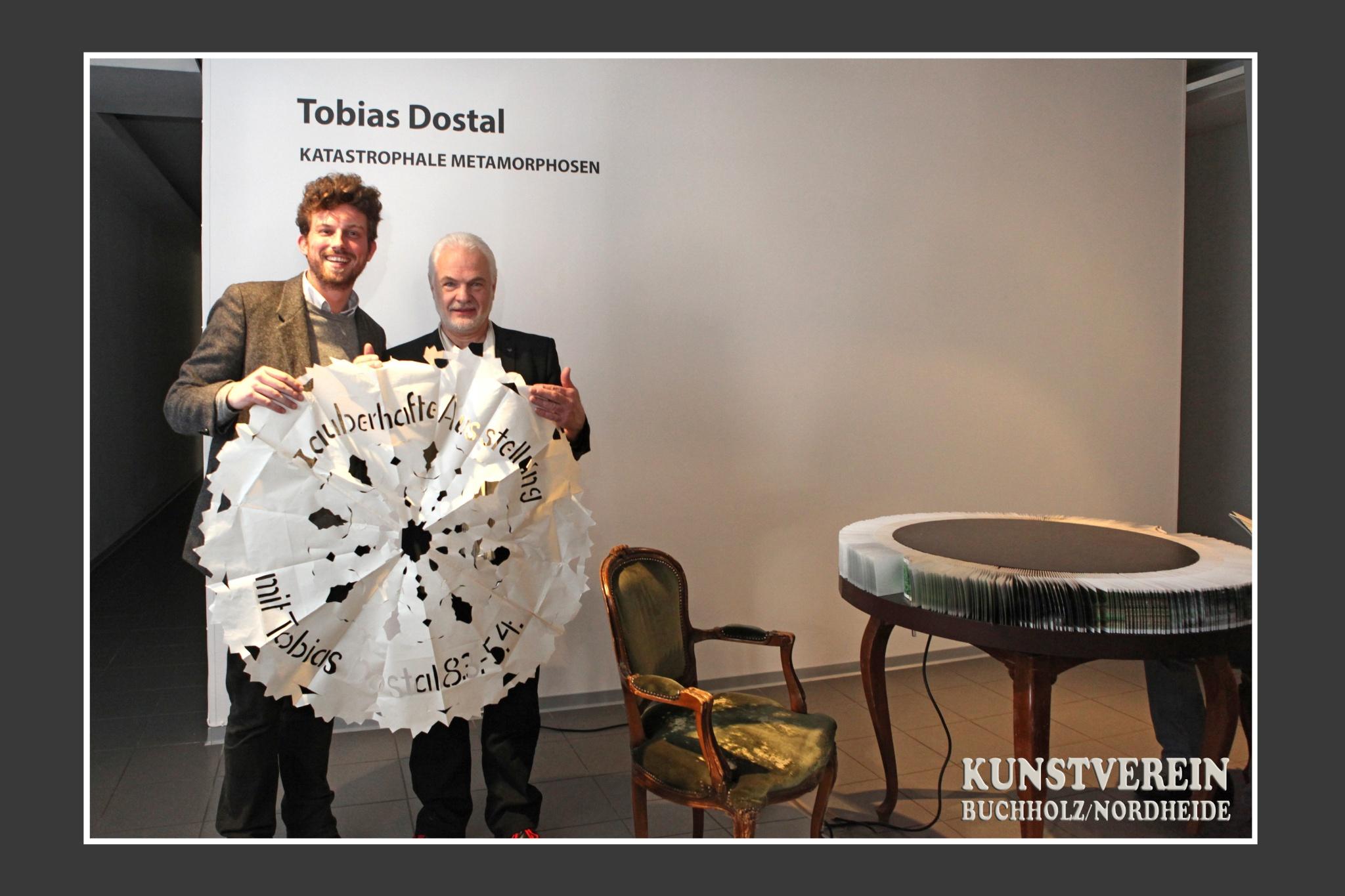 Tobias Dostal; Wittus Witt; KUNSTVEREIN Buchholz/Nordheide